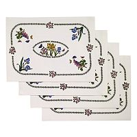 Portmeirion Botanic Garden 4 pc Placemat Set