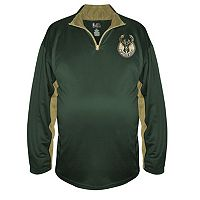 Big & Tall Majestic Milwaukee Bucks Pullover