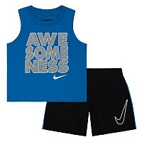 Baby Boy Nike Tank & Shorts Set