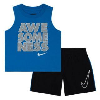 Baby Boy Nike Tank & Shorts Set