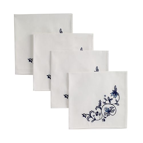 Portmeirion Blue Portofino 4-pc. Napkin Set