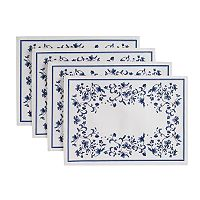 Portmeirion Blue Portofino 4 pc Placemat Set