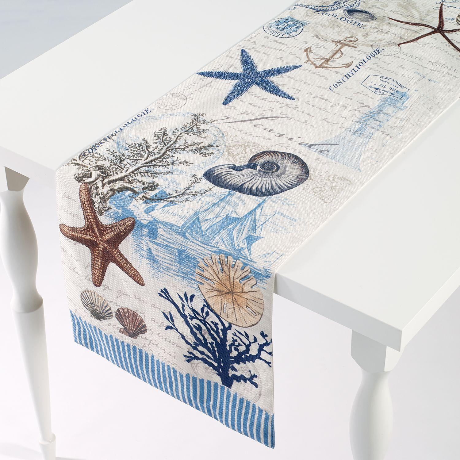 Coastal Table Runners Linens Kitchen Dining Kohl S