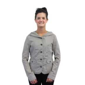 Women's Coffee Shop Mixed-Media Jacket
