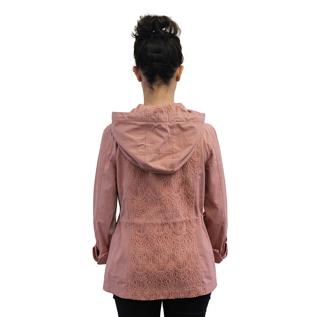 Women's Coffee Shop Lace Jacket