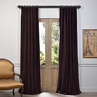 EFF Vintage Cotton Velvet Window Curtain