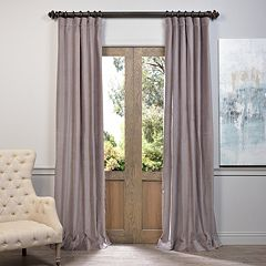 EFF Vintage Cotton Velvet Window Curtain