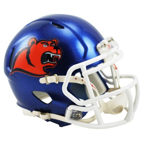 Riddell Coast Guard Bears Revolution Speed Mini Replica Helmet