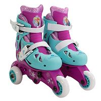 Disney's Frozen Kids 2-in-1 Glitter Roller Skates by Playwheels