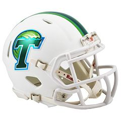 Riddell Tulane Green Wave Revolution Speed Mini Replica Helmet