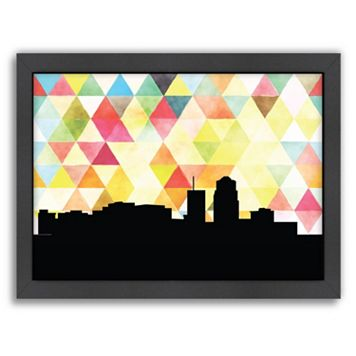 Americanflat Tucson Triangle Framed Wall Art