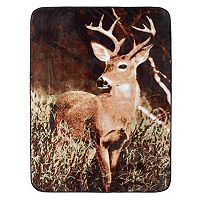 Deer Country Hi Pile Luxury Oversize Throw