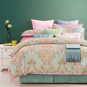 Palace 8-piece 300 Thread Count Duvet Cover Set