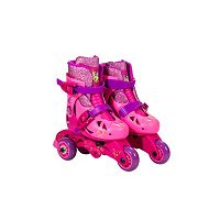 Disney Princess Kids 2-in-1 Convertible Roller Skates by Playwheels
