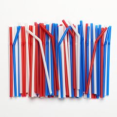 Farberware Disposable Flexible Drinking Straws - 100-pk.