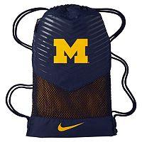 Nike Michigan Wolverines Vapor Gym Sack