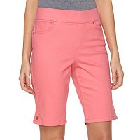 Women's Gloria Vanderbilt Avery Pull-On Bermuda Shorts