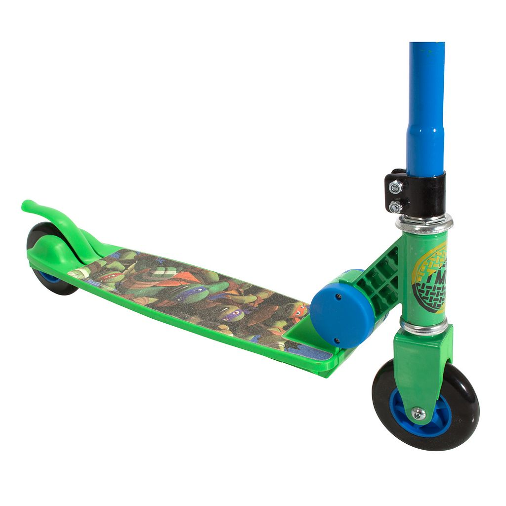 Kids Teenage Mutant Ninja Turtles Folding Scooter by Playwheels