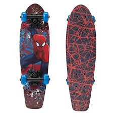 Kids Marvel Ultimate Spiderman 21 in Complete Skateboard by Playwheels