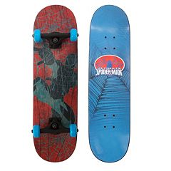 Kids Marvel Ultimate Spiderman 28 in Complete Skateboard by Playwheels