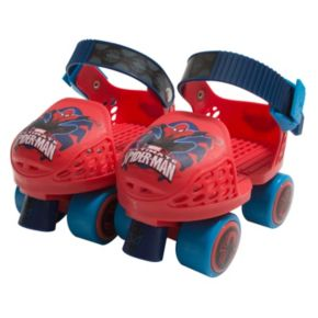 Kids Marvel Ultimate Spiderman Roller Skates Combo Set by Playwheels
