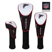 McArthur Atlanta Falcons 3 pc Golf Club Headcover Set