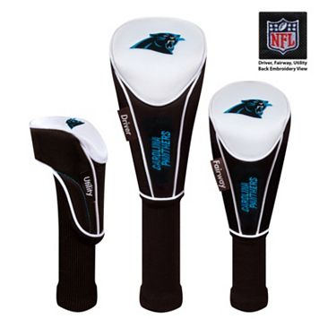 McArthur Carolina Panthers 3-Piece Golf Club Headcover Set