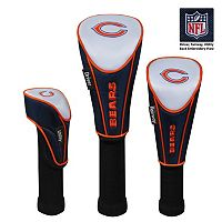 McArthur Chicago Bears 3 pc Golf Club Headcover Set