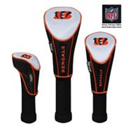 McArthur Cincinnati Bengals 3 pc Golf Club Headcover Set