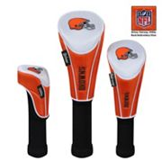 McArthur Cleveland Browns 3 pc Golf Club Headcover Set