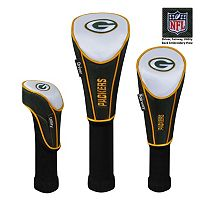 McArthur Green Bay Packers 3-Piece Golf Club Headcover Set
