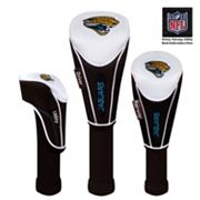 McArthur Jacksonville Jaguars 3 pc Golf Club Headcover Set