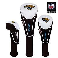 McArthur Jacksonville Jaguars 3-Piece Golf Club Headcover Set