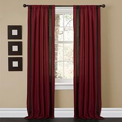 Lush Decor 2-pack Charming Sand Window Curtains - 40'' x 84''