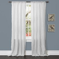 Lush Decor 1-Panel Rosina Window Curtain - 52'' x 84''