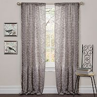 Lush Decor Stella Curtain - 54'' x 84''