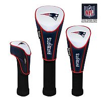 McArthur New England Patriots 3-Piece Golf Club Headcover Set
