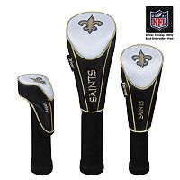 McArthur New Orleans Saints 3-Piece Golf Club Headcover Set