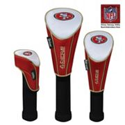 McArthur San Francisco 49ers 3 pc Golf Club Headcover Set