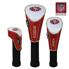 McArthur San Francisco 49ers 3-Piece Golf Club Headcover Set