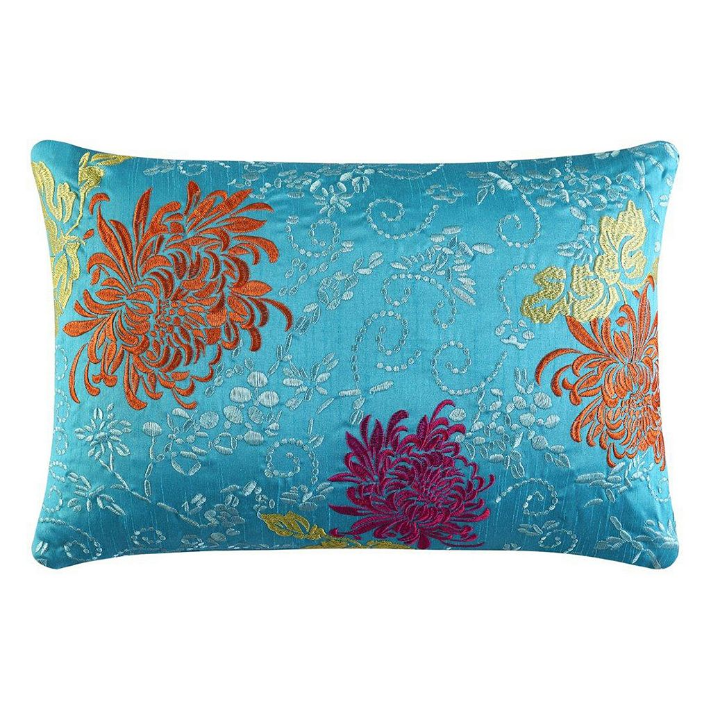 37 West Channing Embroidered Throw Pillow