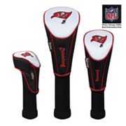 McArthur Tampa Bay Buccaneers 3 pc Golf Club Headcover Set