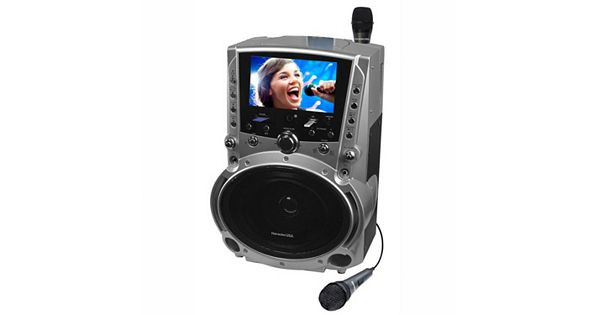 Karaoke Usa Karaoke System With 7 Inch Color Screen