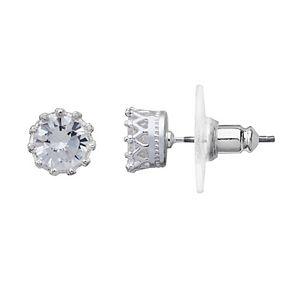 LC Lauren Conrad Crown Stud Earrings