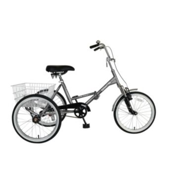 Adult Mantis Tri-Rad Folding Tricycle