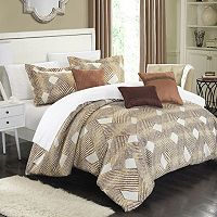 Chic Home Fiorella 6-piece Jacquard Bed Set