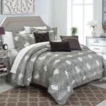 Chic Home Fiorella 6 pc Jacquard Bed Set