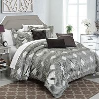 Chic Home Fiorella 6 pc Jacquard Bed Set