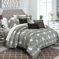 Chic Home Fiorella 10 pc Jacquard Bed Set