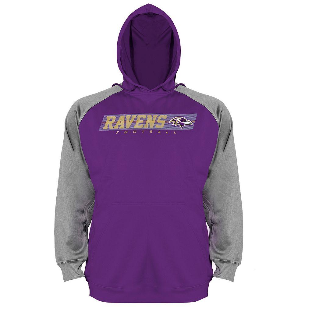 Big & Tall Baltimore Ravens Raglan Hoodie